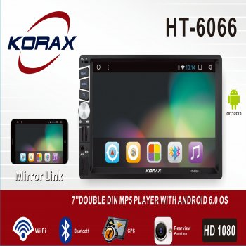 HT-6066 Model Android Double DIN MP5